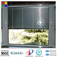 2015 hot sale hot sale motorized windows with built in blinds