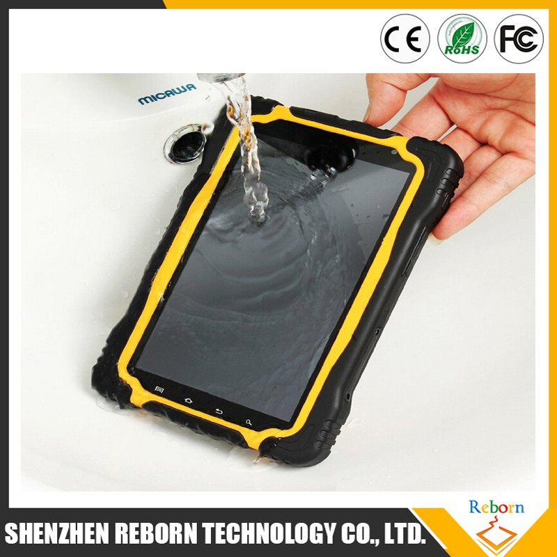 Bulk Wholesale 7 inch Android 4.4 MTK6589 Quad core Rugged Tablet With IP67 Waterproof Tablet PC