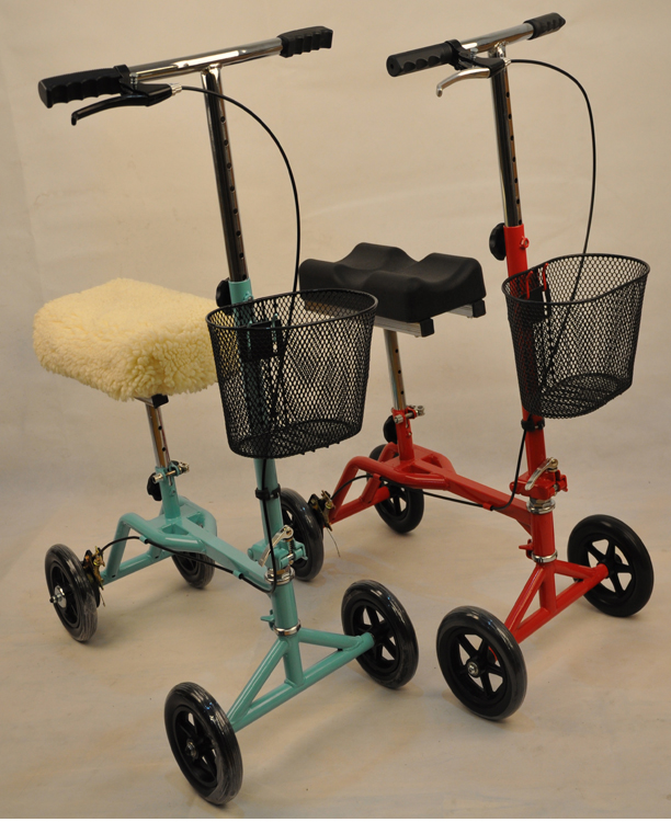 Walk Aid Electric Knee Scooter Foldable Knee Walker