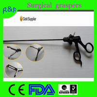High quality stainless steel surgical laparoscopic graspers