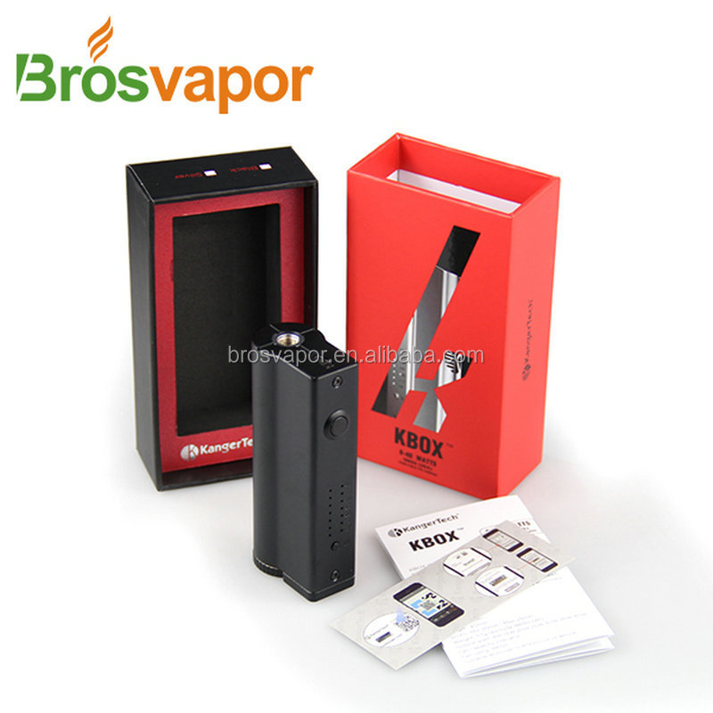 New products 2015 Kanger Subtank Mini cartomizer and Kangertech K box 40W mod for ecig starter kit