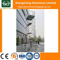 2017 Mobile Aluminium H frame scaffolding