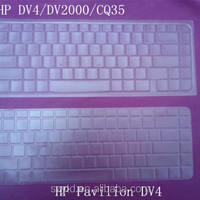 Tpu Transparent Color Laptop Skin For