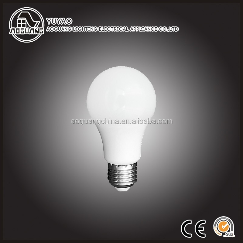 China Manufacturer Directly Provide Aluminum body + PC Cover E27 Led Bulb 9w