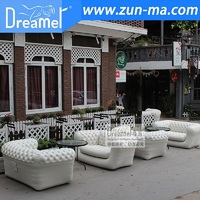 Alibaba sof agiant advertising inflatable sofa