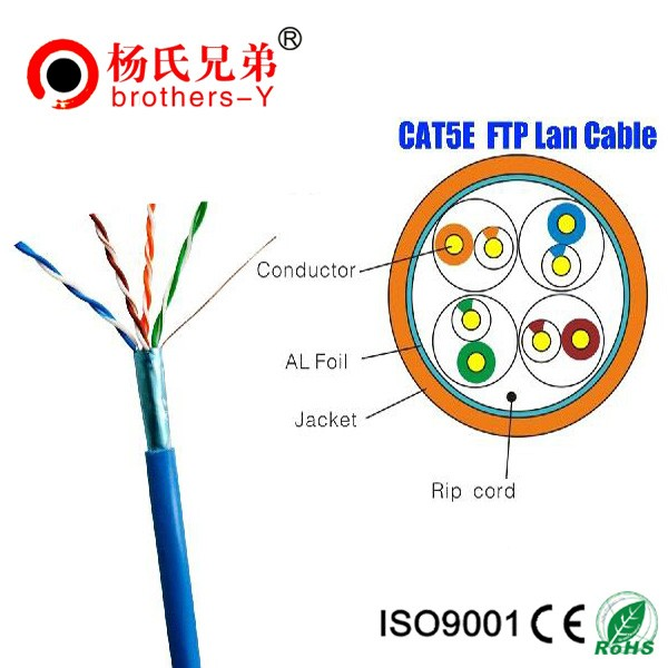 Fast and Reliable Connection 4pair 24awg utp cat5e lan cable
