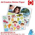 135 gsm/ A4(210x297mm) Creative Sticker Paper