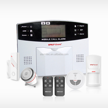 cheap hot sale gas leak detector gsm home alarm wireless motion detector Business/Home GSM Alarm System control panel YL-007M2B