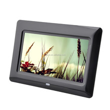 motion sensor electronic picture frame,blue film photo 8 inch