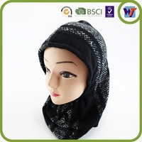 High Quality Handmade Design Cap Cheap Knitted Hats And Scarfs Sets For Winter