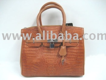 Leather Products: Crocodile / Alligator Skin Handbags, Briefcase