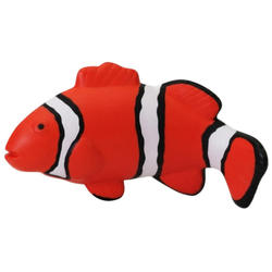Customized logo pu foam clown fish shaped stress balls
