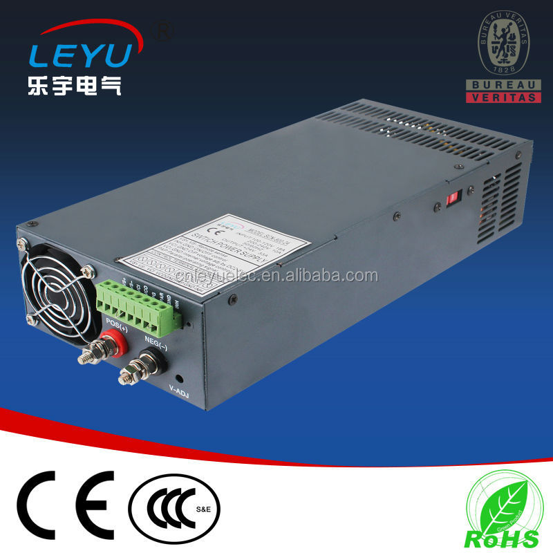 240v to 24vdc single output led driver strip parallel function power supply for tv 3D printer SCN-1000-24