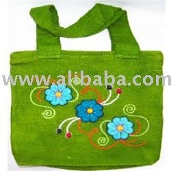 Handbags embroidered
