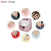 Best price mobile finger and toe nail printing machine printer