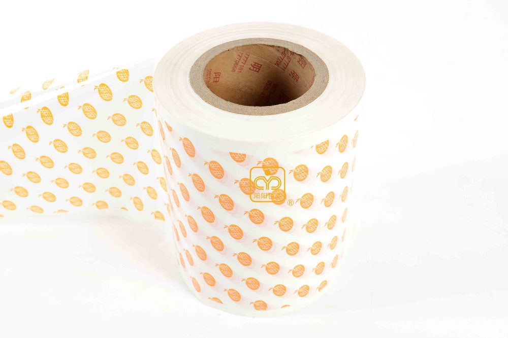 food flexible plastic packing roll film for power