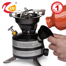 2016 New KLTE Portable Gasoline Stove Oil Burner Outdoor Mini Liquid Fuel Camping Stove