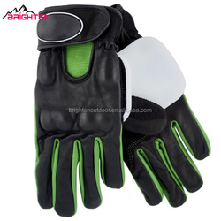 High quality durable leather sliding gloves for longboard
