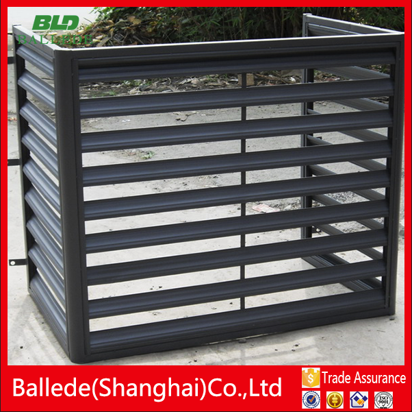 Aluminum Exterior Air Conditioner Protector Louver Buy Air Conditioner Protector Exterior Air