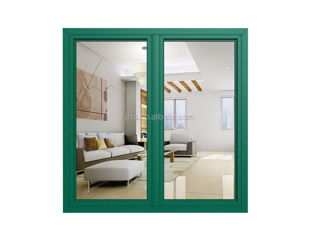 Double sash casement aluminum window factory