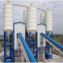 easy to transported small concrete mixing batching plant station for sale