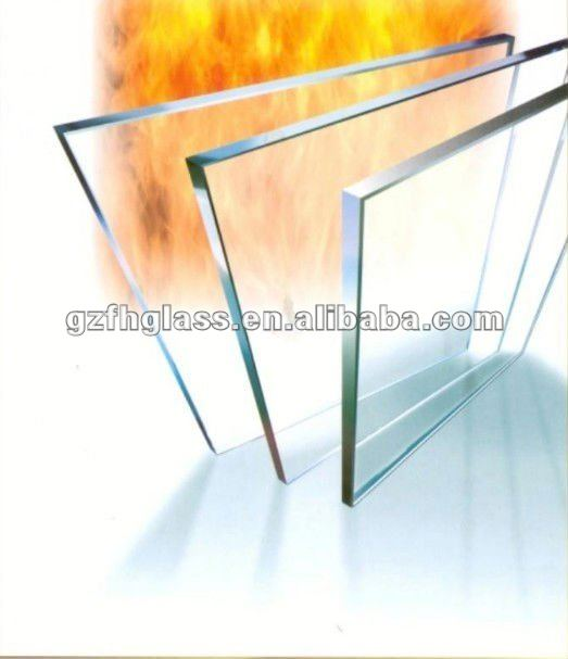 Guangzhou supply high quality fire proof glass for building with 3C,EN12150,BS6206,AS/NZS2208