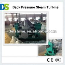 Single Stage Back Pressure Steam Turbine Generator