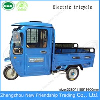 China electro-tricycles/Three wheel electric vehicle/richshaw electric tricycle for adults & cargo