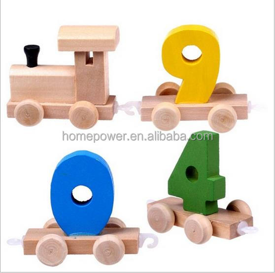 kids wooden educational toy/ diy train track