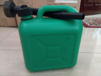 Custom plastic jerry can manufacturer/ High Quality Blowing Mold fuel cans