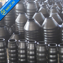 large carbon steel reducer pipe fitting