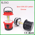 Bright Outdoor COB LED Camping Lantern With Dimmer for Hiking