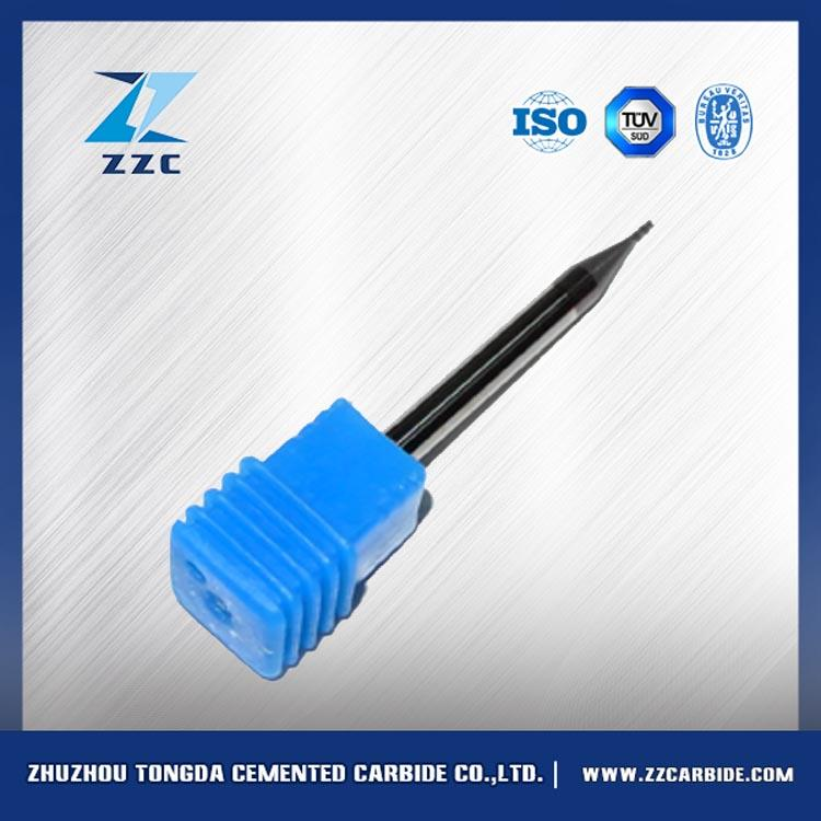 tungsten carbide end mills cnc miling for ultra hard material