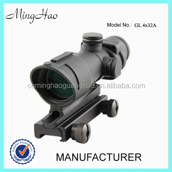 Minghao 4X32 military Gen.1 gunscope rifle scope for hunting