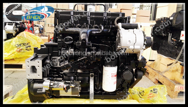 cumins QSB4.5-C130-30 machinery diesel engine for excavator