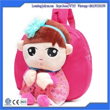 Cute Plush Korea Girl Character Bacakpack Kids Cartoon Backpack School Bags