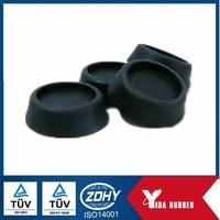 hard rubber pads/rubber cushion pad/small rubber pad