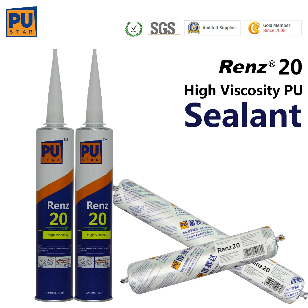 polyurethane sealant for windshield glazing