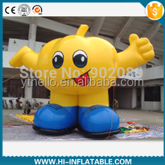 inflatable food/pumpkin cartoon for advertising/inflatable cartoon model