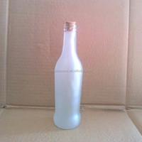 275ml frosted glass spirits wholesale rum bottles