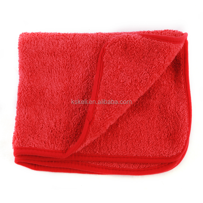 100% Scratch Free Plush microfiber towel Perfect For Auto Detailing,Washing,Interior Cleaning