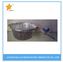Aluminum foil POTS take out container for food packing 1800ML