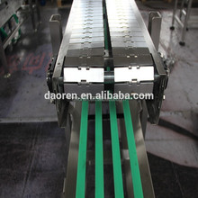 stainless steel chain belt conveyor system