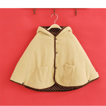 Baby cloak wholesale, autumn and winter thick cloak