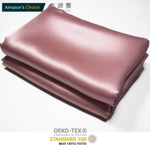 THXSILK Non-toxic 100% Pure Mulberry silk fabric 16/19/22/25MM Plain Dyed Charmeuse OEKO-TEX100