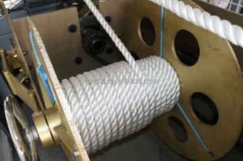 Special customize-made 2mm-60mm pp rope machine for making rope cord cordage