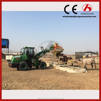 Agriculture wheel loader backhoe loader HY2000 with FOPS/ROPS cabin for sale