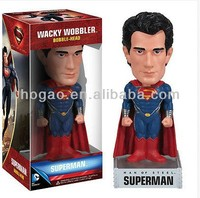 Superman bobblehead, OEM bobble head doll