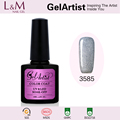GelArtist Professional Wholesales Uv Color Gel Soak Off Gel Nail Polish