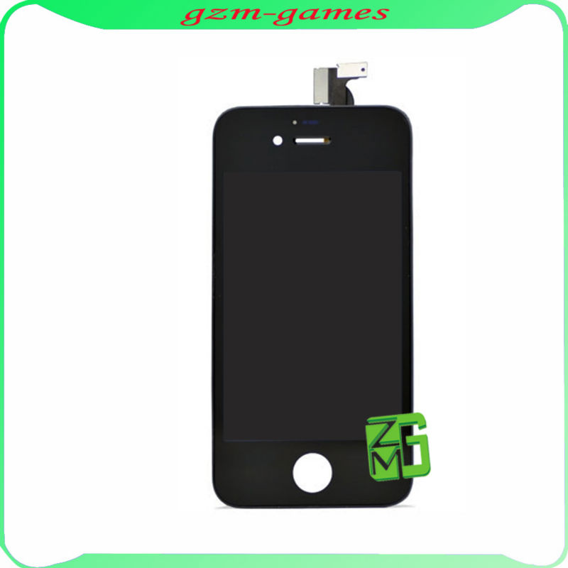 For iphone 4S Full LCD with touch digitizer screen Black